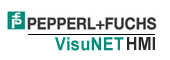 Pepperl+Fuchs VisuNET HMI Logo
