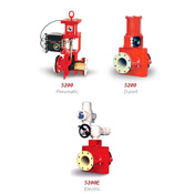 Red Valve Pinch Valves